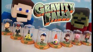 Gravity Falls Blind Bag Surprise Domez Action Figures Toys Case Set Unboxing Full Episode