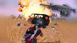 New M249 Gameplay | PUBG Mobile