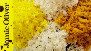 How To Cook Perfect Fluffy Rice   Jamie Oliver
