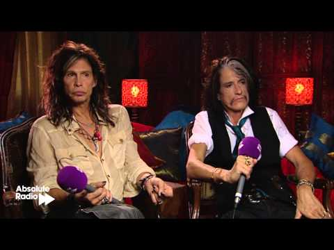 Aerosmith Interview: Steve Tyler and Joe Perry 2012