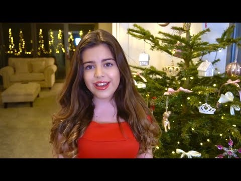 SOPHIA GRACE SINGS - ARIANA GRANDE - Santa Tell Me