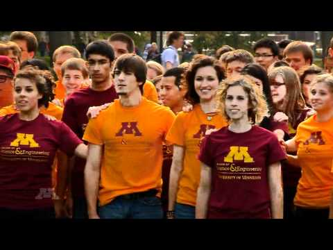University of Minnesota Flash Mob -- College of Science and Engineering 75th Anniversary 10/19/2010
