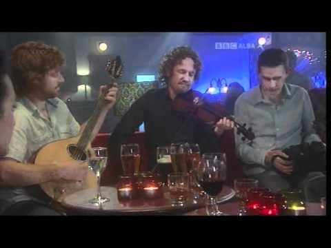 Guidewires play on BBC's Horo Gheallaidh Jan '10 in Glasgow