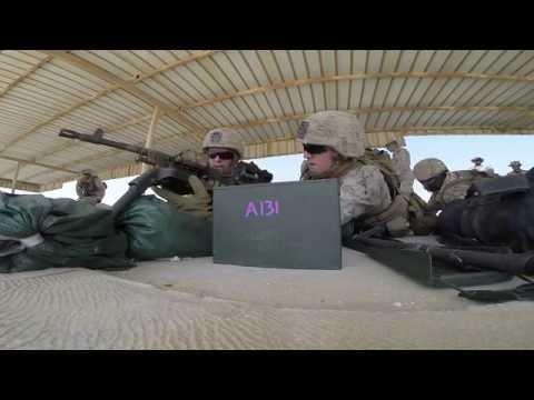 FAST Marines Practice Marksmanship Skills