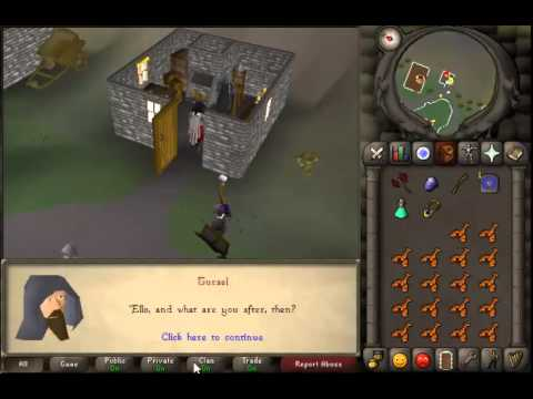 Runescape 2007 - How to change your slayer task