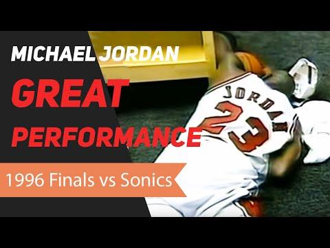 1996 Nba Finals Michael Jordan 1996 Nba Finals