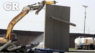 Derriba EU prototipos de muro