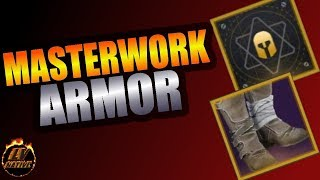 You Need This!  Destiny 2 Masterwork Armor