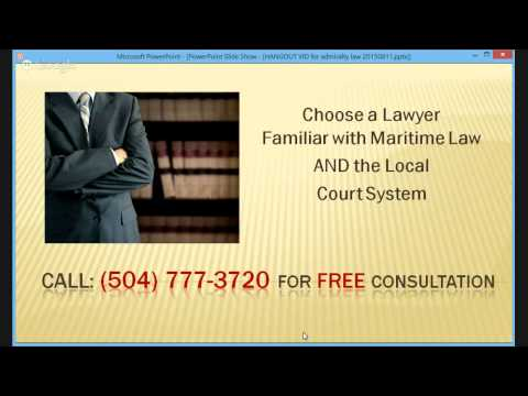 Metairie Offshore Admiralty Maritime Lawyer | Boating Accident | (504) 777-3720