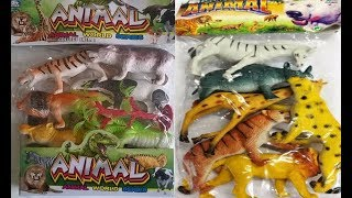 đồ chơi động vật - động vật  hoang dại - con sư tử - hổ - con voi - ngựa vằn - khủng long