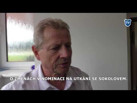 FNL: Trenér Vlastimil Petržela po utkání v Sokolově (0:0).