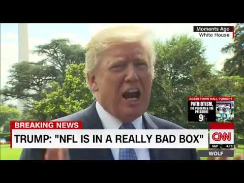 Trump: NFL will go to hell if anthem protests don't stop