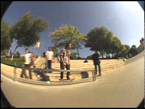 SkateStache Derek Fukuhara at Brea Skatepark