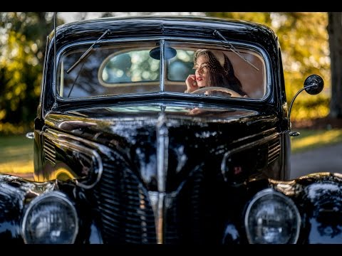 Zeiss Batis 85mm Portraits in a 1939 Ford Standard Coupe- Sony A7Rii at a Jason Lanier Workshop