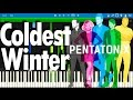 Pentatonix - Coldest Winter | Synthesia Piano Tutorial