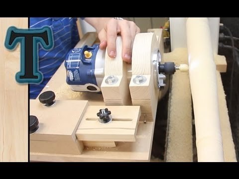Router Lathe Duplicator Version 2 (Intro Video)