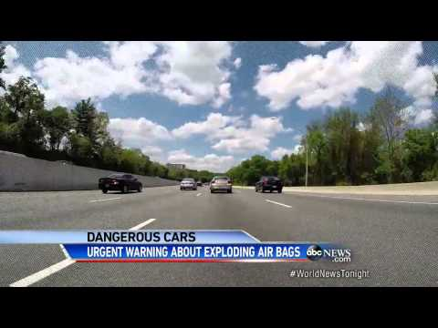 Warning for Owners of Cars With Defective Airbags