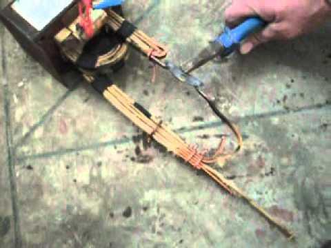 Трансформатор для точечной сварки своими руками