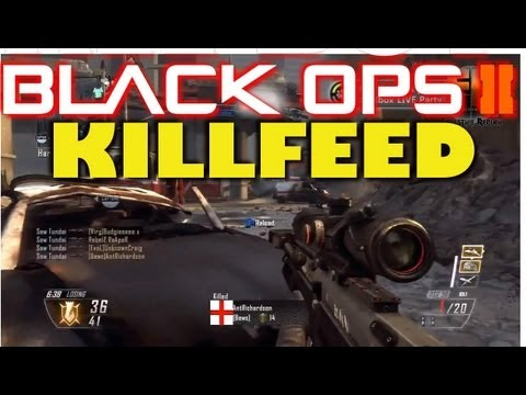 Black ops 2 killfeed | Awesome