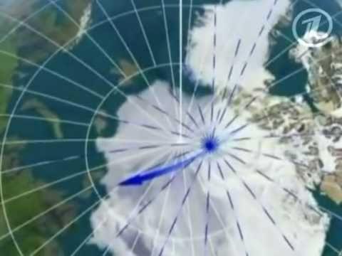 Куда движется Северный полюс?