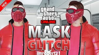 GTA 5 Online - NEW Mask Biker Goggles Glitch! No Helmet Keep Biker Mask & Glasses! GTA 5 Glitches!
