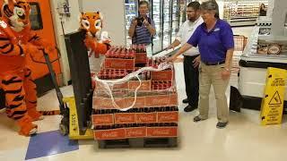 TigerNet: Coke bottles are out