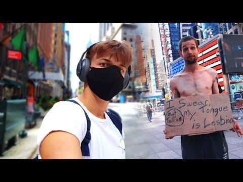 NEW YORK = Fura Emberek -vlog-