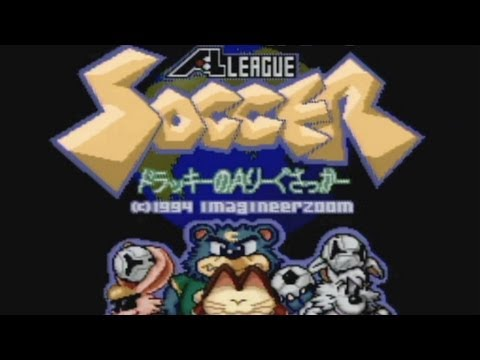 CGR Undertow - DOLUCKY'S A-LEAGUE SOCCER review for Super Famicom