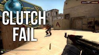 CLUTCH FAIL! - CS:GO ROAD TO GLOBAL! #8