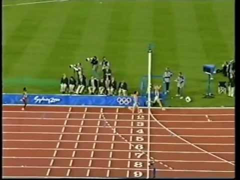 Sonia O'sullivan & Gaby Szabo - Olympic 5000m Sydney 2000 video