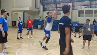 Jordan Clarkson hits half-court shot in shootout after first practice with Philippine team in Asiad