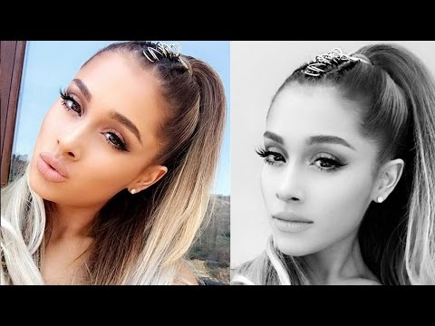 Ariana Grande Gives Her Signature Pony Tail A NEW Makeover