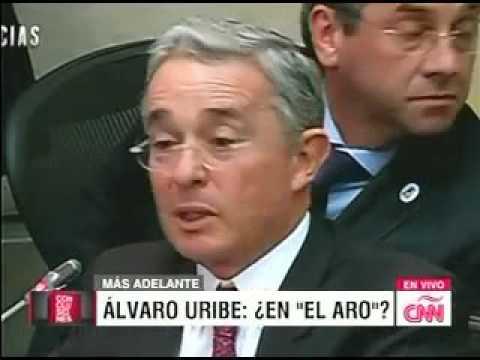 Entrevista del expresidente y senador Álvaro Uribe Vélez  en Conclusiones de CNN 7 octubre de 2015