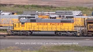 (4K) Union Pacific Trains on the Gila Subdivision