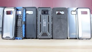 TOP 8 Galaxy S8 Cases! 30 Cases Covered In Total!