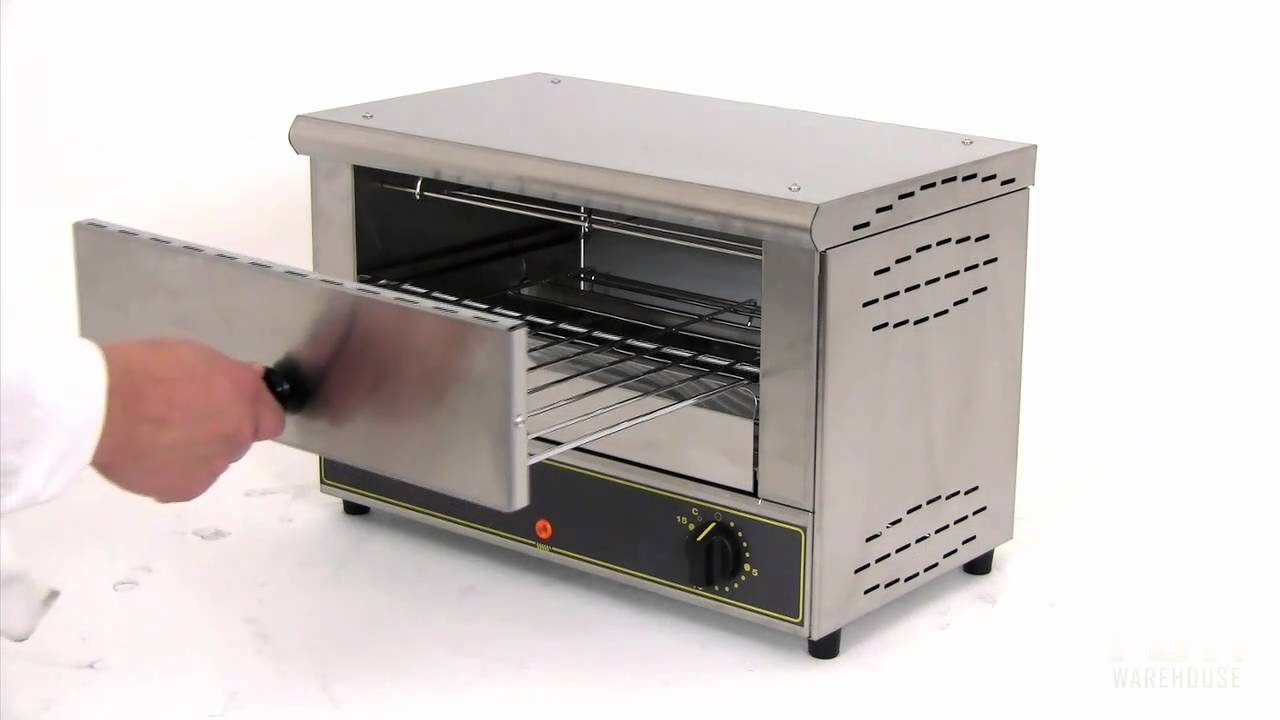 Countertop Oven Infomercial : Equipex Commercial Toaster Oven Video (BAR 106) - YouTube