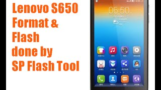 Lenovo S650 Flash