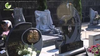 Dezenas de sepulturas vandalizadas no cemitério de Gondomar