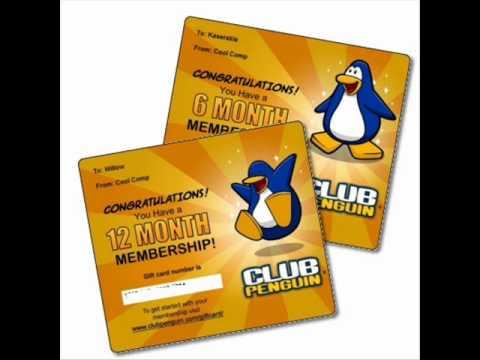 club penguin como tener una membrecia gratis