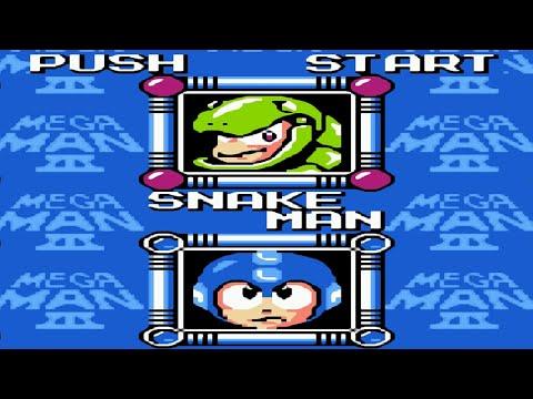Mega Man 3 Snake Man Kill