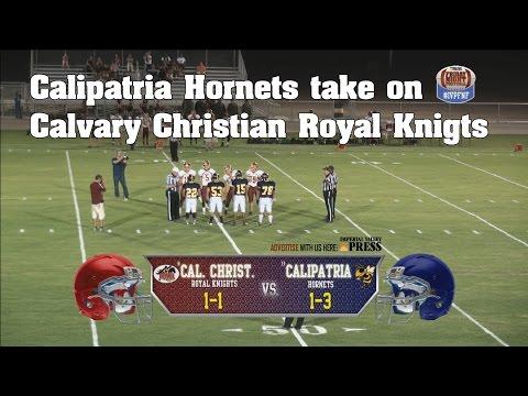 Highlights from Calvary Christian Academy vs. Calipatria High football game