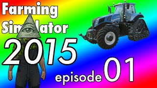 Farming Simulator 15 - West Valley USA Multiplayer - EP:1