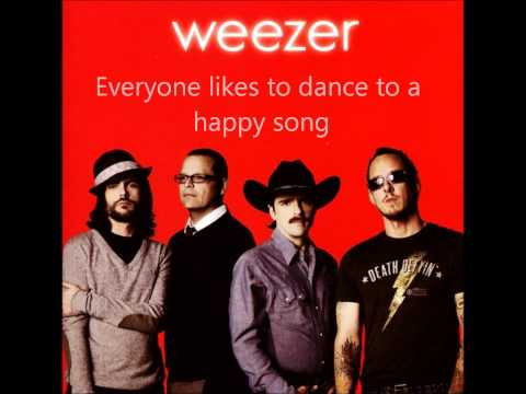 Weezer- Pork and Beans (Red Album) Lyrics