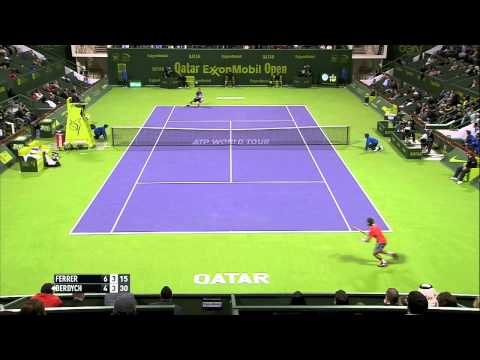 Doha 2015 Final Highlights Ferrer Berdych