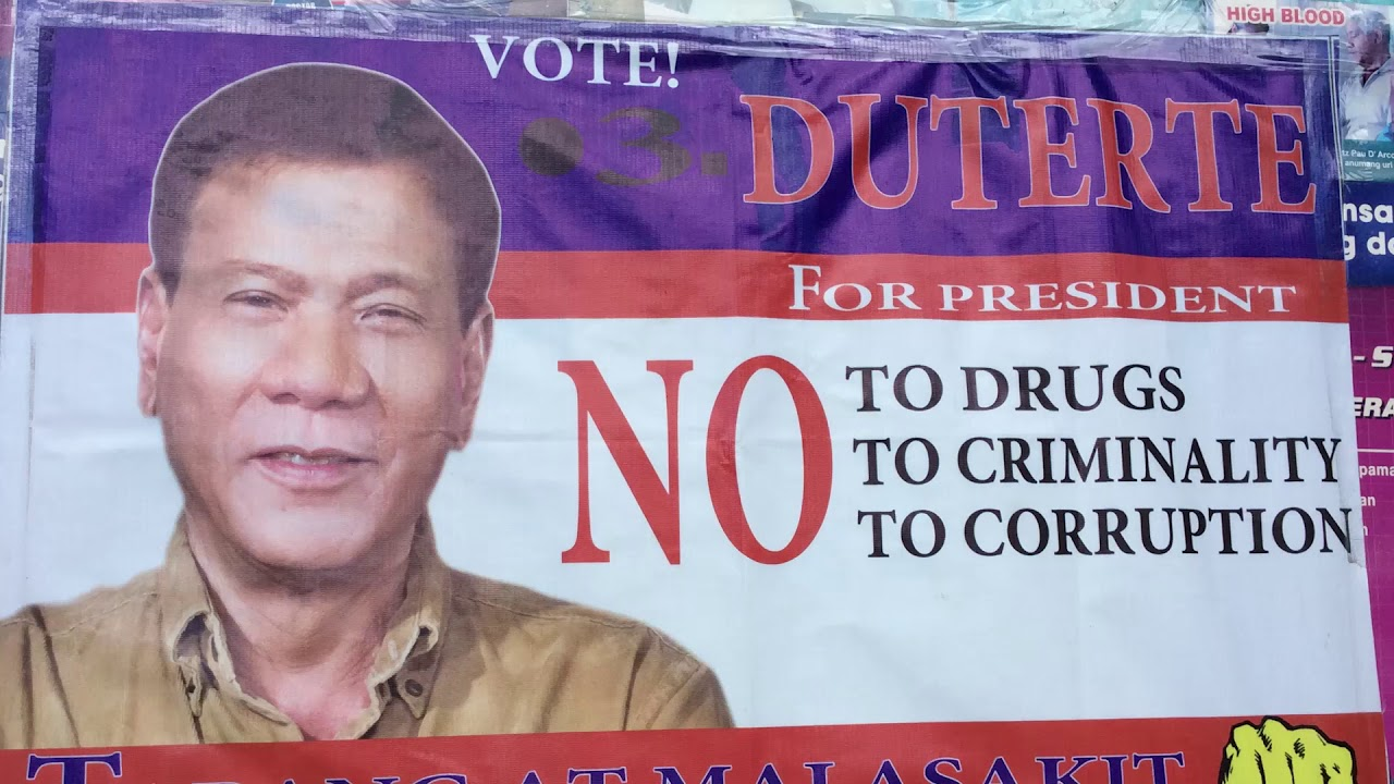 Philippines President-Elect Rodrigo Duterte brings hope to his home town