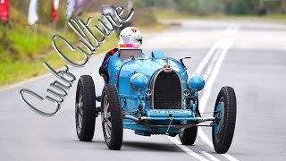 Watch a pre-war Bugatti Type 35B chug its way up the Jaguar Simola Hillclimb