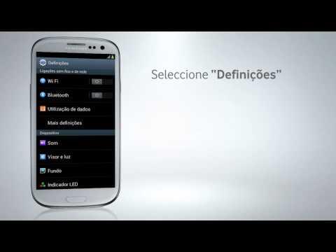 Samsung Galaxy S III - Configuração de Wi-Fi