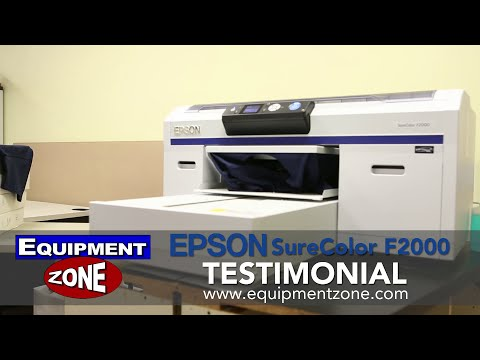 Epson SureColor F2000 Testimonial: Left-Tees - Derry. NH