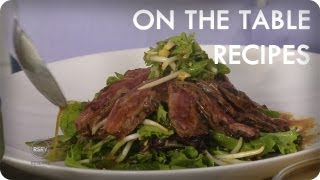 Skirt Steak & Salad Recipe by Eric Ripert | On The Table Recipes | Reserve Channel