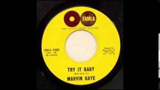 Watch Marvin Gaye Try It Baby video